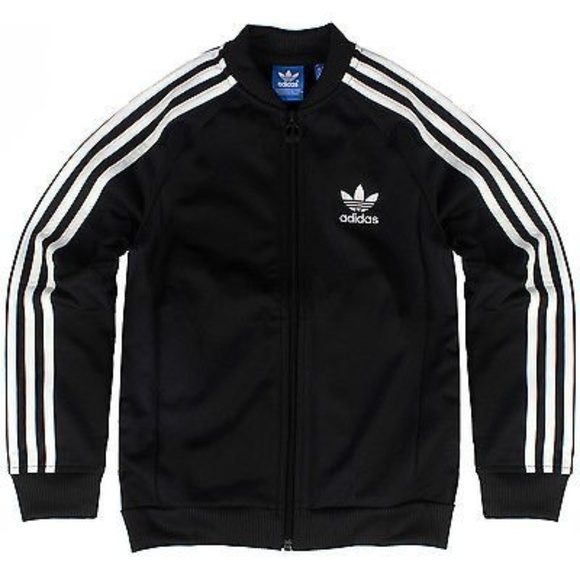2cd05466618e adidas Other - NWOT Youth adidas Superstar Track Jacket Black